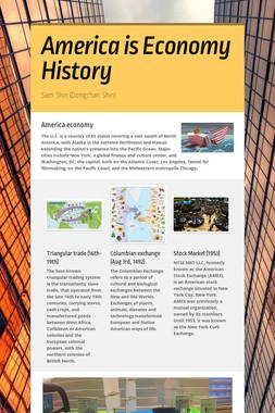 America is Economy History