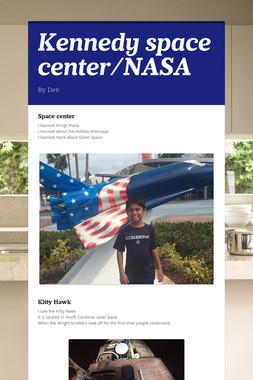 Kennedy space center/NASA