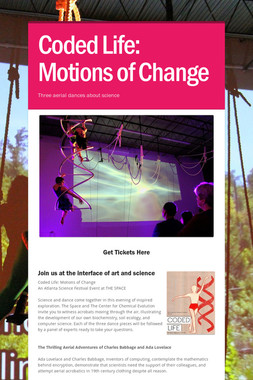 Coded Life: Motions of Change