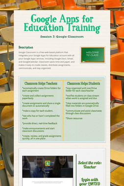 Google Apps for Education Training