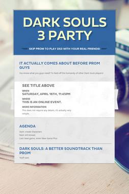 Dark Souls 3 Party