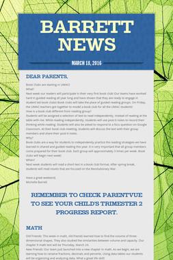 Barrett News