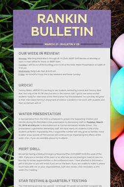 Rankin Bulletin