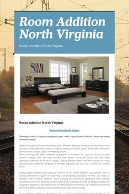 Room Addition North Virginia