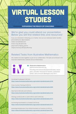 Virtual Lesson Studies
