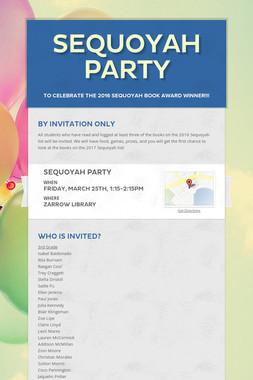 Sequoyah Party