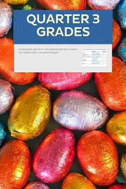Quarter 3 Grades