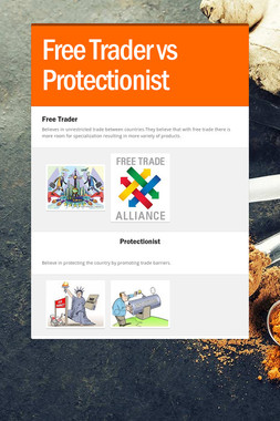 Free Trader vs Protectionist