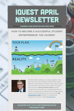IQuest April Newsletter