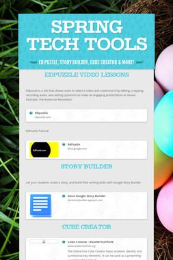 Spring Tech Tools
