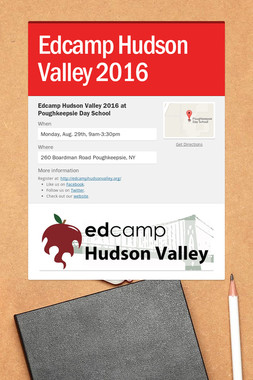 Edcamp Hudson Valley 2016