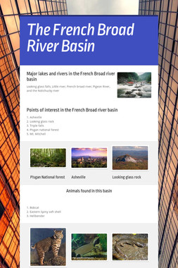 The French Broad River Basin