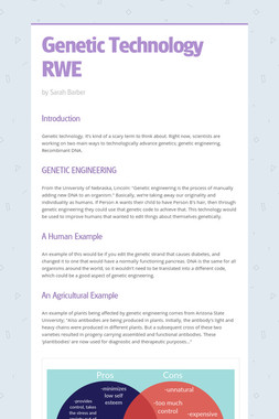 Genetic Technology RWE