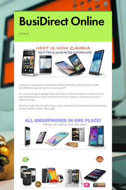 BusiDirect Online