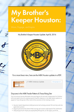 My Brother's Keeper Houston: