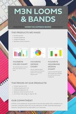 M3N Looms & Bands