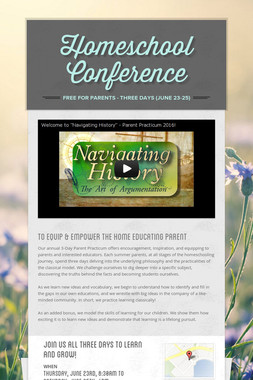 Homeschool Conference