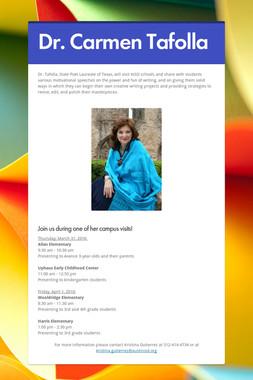 Dr. Carmen Tafolla