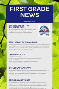 first grade news