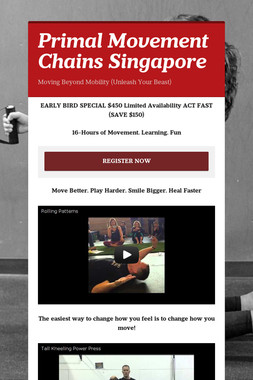 Primal Movement Chains Singapore