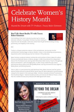Celebrate Women's History Month