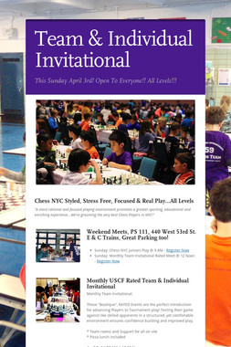 Team & Individual Invitational