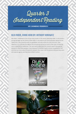 Quarter 3 Independent Reading