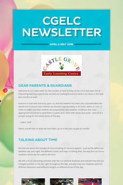 CGELC Newsletter