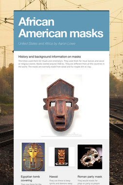 African American masks