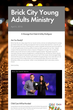 Brick City Young Adults Ministry