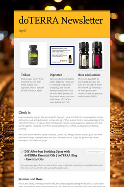 doTERRA Newsletter