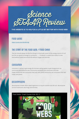 Science STAAR Review