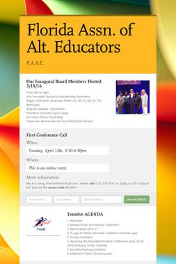 Florida Assn. of Alt. Educators