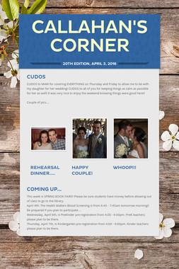 Callahan's Corner