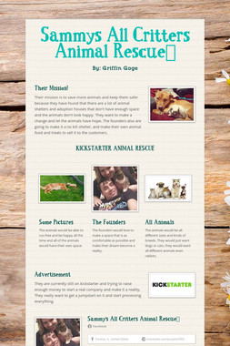 Sammys All Critters Animal Rescue🐶