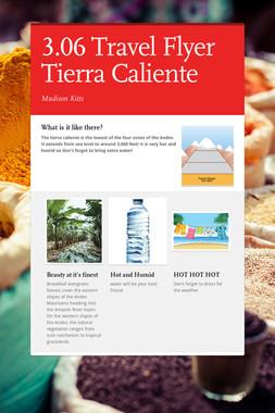3.06 Travel Flyer Tierra Caliente