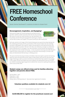 FREE Homeschool Conference