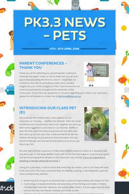 PK3.3 News - Pets