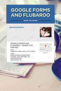 Google Forms and Flubaroo