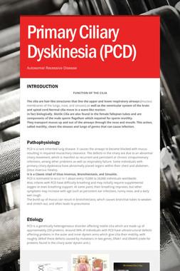 Primary Ciliary Dyskinesia (PCD)