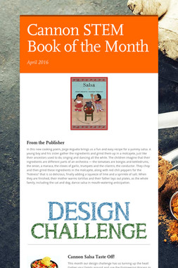 Cannon STEM Book of the Month