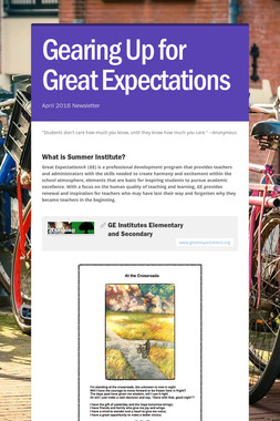 Gearing Up for Great Expectations