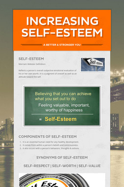 Increasing Self-Esteem