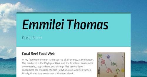 Emmilei Thomas | Smore Newsletters