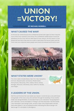 UNION =victory!
