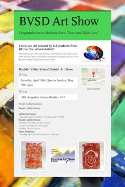 BVSD Art Show