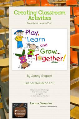 Creating Classroom Activities