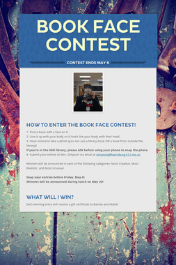 Book Face Contest