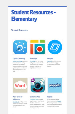 Student Resources - Elementary