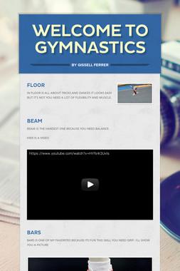 welcome to Gymnastics